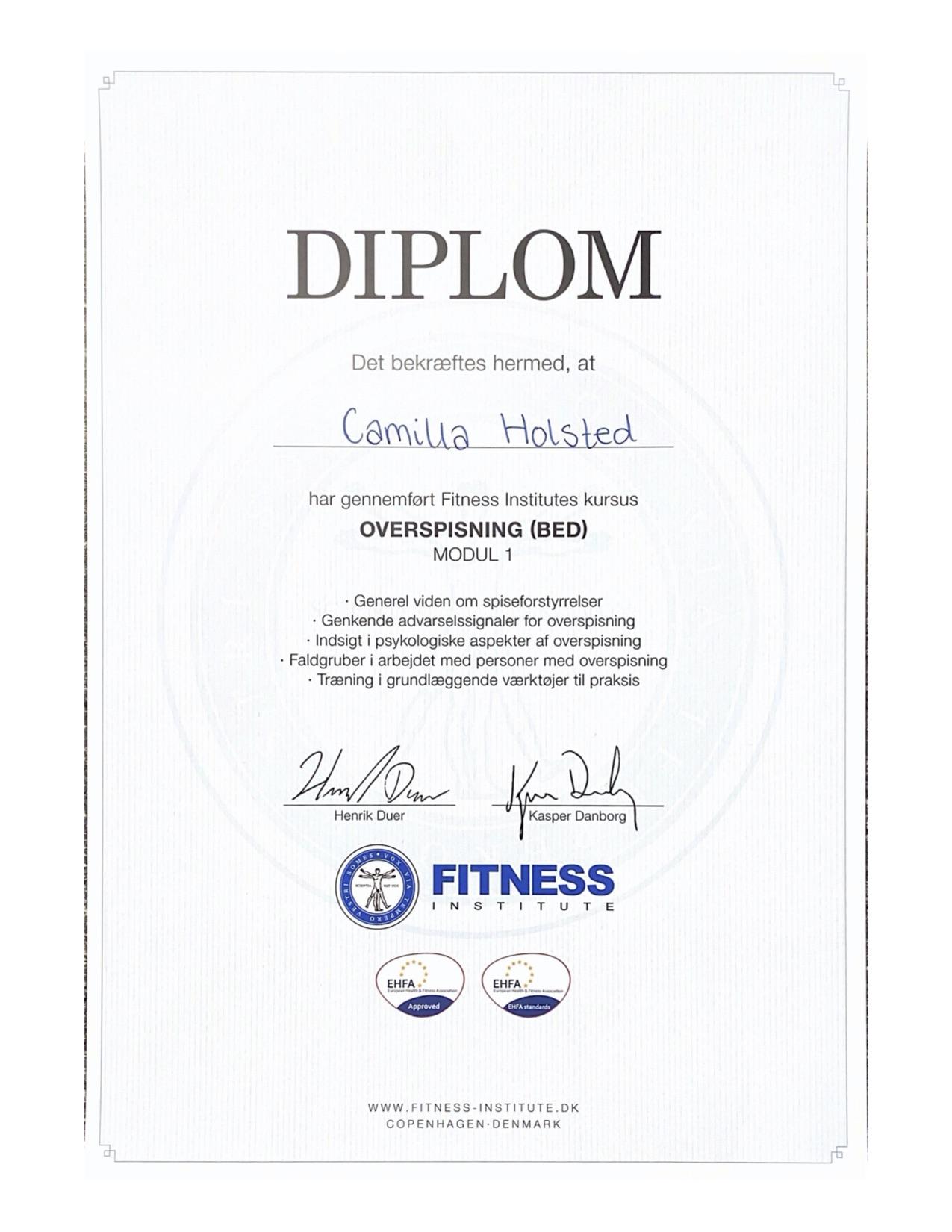Overspisning diplom | MentalRo.nu