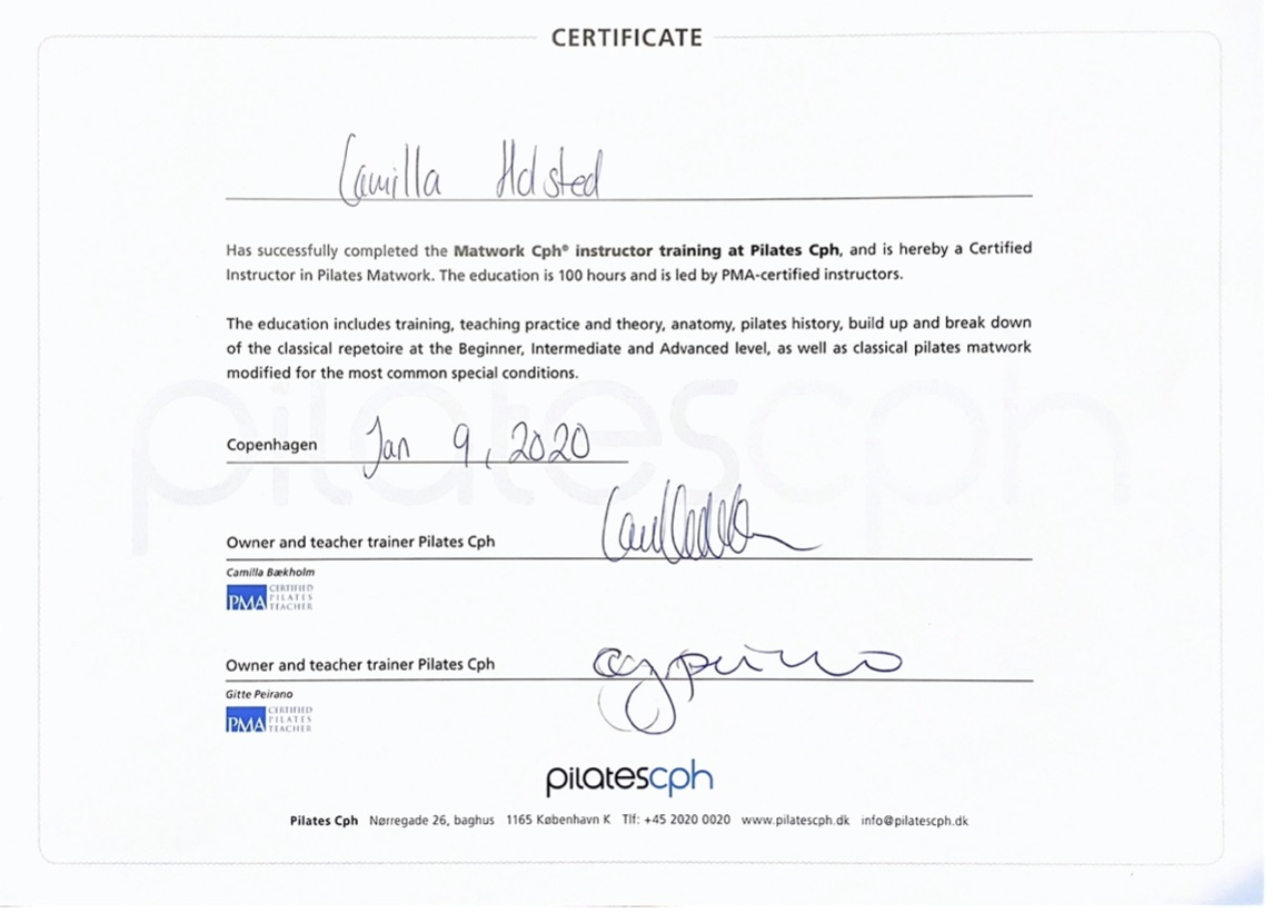 pilates diplom | MentalRo.nu